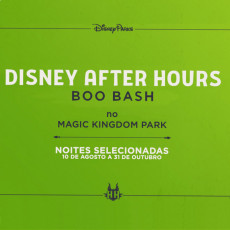 Disney After Hours Boo Bash - Halloween 2021
